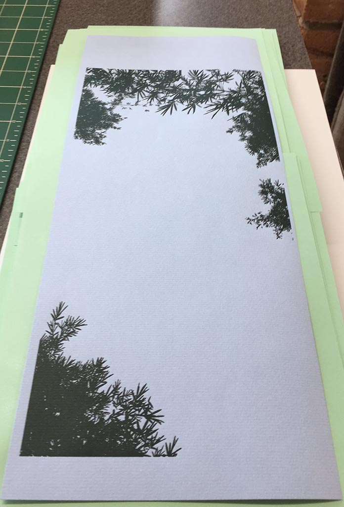 Printing of trees